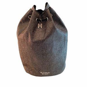 VICTORIA'S SECRET Drawstring Bag Metallic Glitter